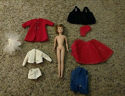 1963 Skipper Doll with Clothing Lot!