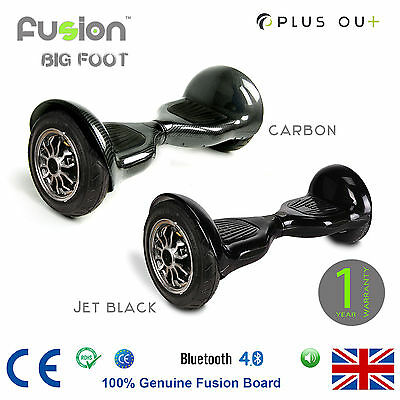 "Original 10"" Fusion Electric Scooter Swegway Hover Board Self Balance Bluetooth"