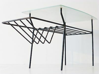 Superb Coffee Table Magazine Rack 1950 Vintage Rockabilly 50S French