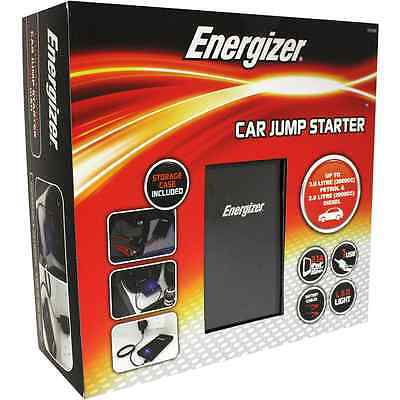 Energizer Lithium-Polymer 7500mAh Car Starter Kit Jump Leads, Case, LED Torch