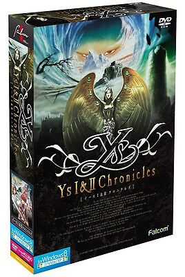 New! Ys I & II Chronicles Windows8 PC Computer Video Game f/s from Japan