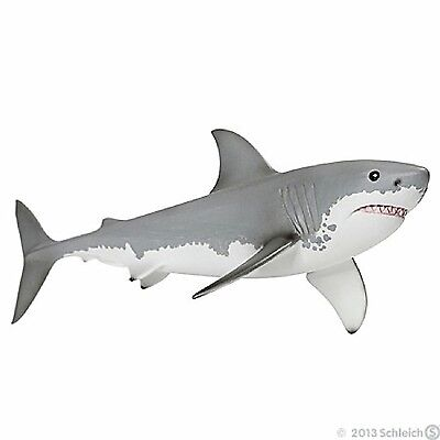 Schleich 14700 Great White Shark Sealife Model Toy Figurine Replica: New in Pack