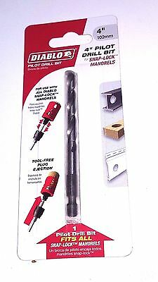 New FREUD Diablo DHS4BIT Pilot Bit for All Snap Lock Mandrels- Free Shipping