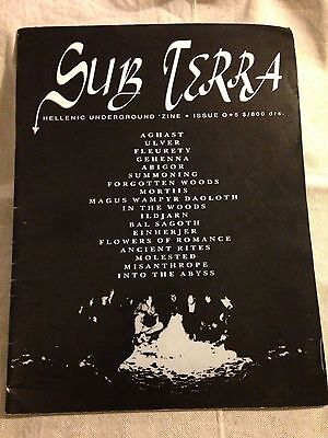 SUB TERRA ZINE - Heavy Metal Zine Black Metal