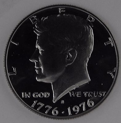1976-S GEM Proof PF Kennedy Half Dollar Unc Uncirculated US Coin