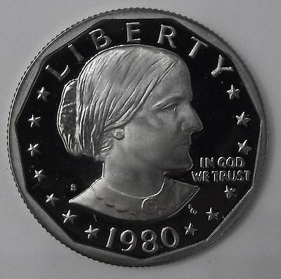 1980-S GEM Proof PF Susan B. Anthony Dollar Unc Uncirculated US Coin FREE SHIP