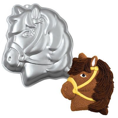 Wilton Party Pony Pferd Kuchen Backen Blech Pfanne Kinder Geburtstagsparty Alu