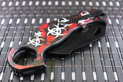 *CAN* Tactical Spring Assisted Blade folding Open Pocket Knife 060RS-ZB