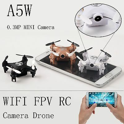 RC RC Quadcopter 2.4GHz 4CH 6-Axis Gyro Nano 3D UFO Drone FPV with WIFI Camera