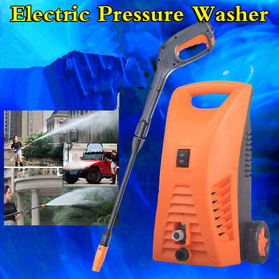 Electric High Pressure Water Cleaner Washer Hose Pump Gun Gurney Cleanning Tool