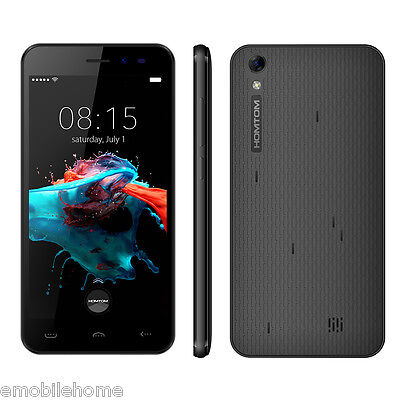 5'' Homtom HT16 3G Smartphone Android 6.0  MTK6580 Quad Core 1GB+8GB GPSBT