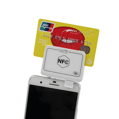New NFC Contactless Tag Reader Writer Magnetic Card Reader For Smart Phones WL