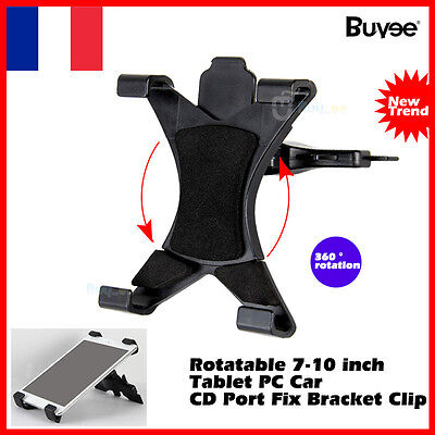 360 ° voiture universelle CD holder cradle support pour ipad 1 2 3 4 Air 1 2