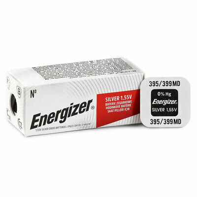 1 x Energizer 395 399 battery Silver Oxide 1.55V SR927SW SR57 Watch EXP:2020