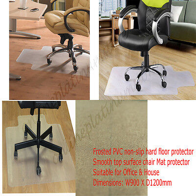 Frosted PVC Chair Mat for Hard Floor Office, Home or Study Floor Protector