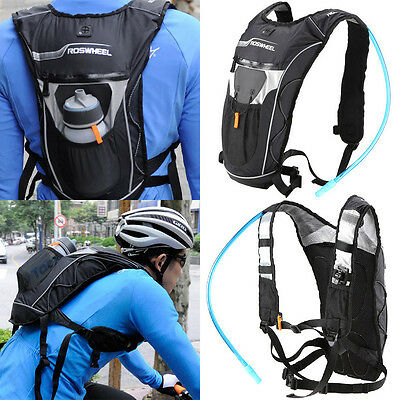 4L Cycling Bicycle Backpack + Hydration Shoulder Bag Hiking Water Bag WL