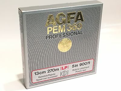AGFA PEM369 13CM 5 INCH 900FT PROFESSIONAL REEL TO REEL TAPE NEW SEALED   ae1x13