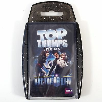 Top Trumps Specials Dr Who Card Game Matt Smith The 11th Doctor: Stocking Filler