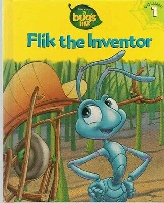 Flik the Inventor A Bug's Life Book By Disney BRAND NEW