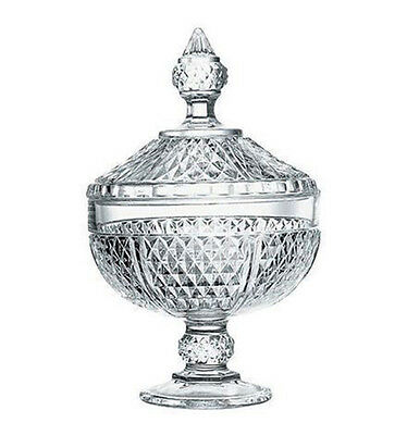 Pasabahce Diamond Candy bowl with cover 245mm