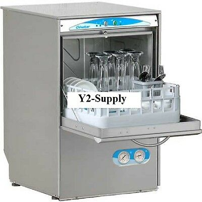 NEW! Lamber High Temp Glasswasher, Drain Pump Included 208-240V!!