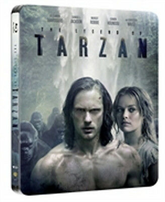 The Legend of Tarzan - Limited Edition (Blu-Ray Disc - SteelBook)