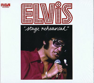 Elvis Presley STAGE REHEARSALS - FTD 101 New / Sealed CD