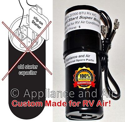 COLEMAN MACH 8333A9021 RV A/C Hard Start Capacitor Booster Kit DIY easy  CLIP ON!