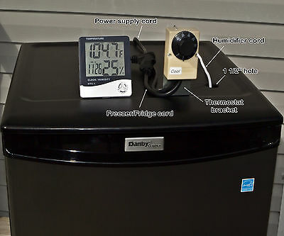 Plug in Convert Freezer to Meat & Fish Curing Fermentation Aging + Instructions