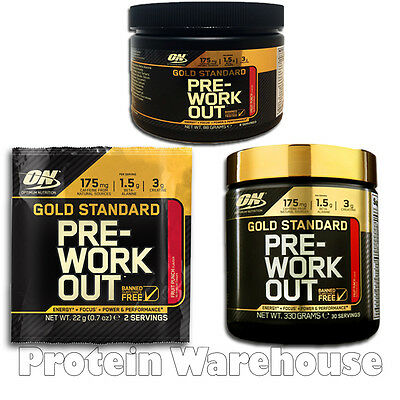 Optimum Nutrition Pre Workout ON 22g - 330g