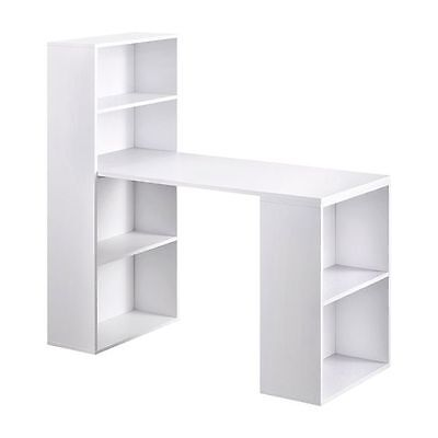 NEW Resort Living Adaline Storage Office Desk, White