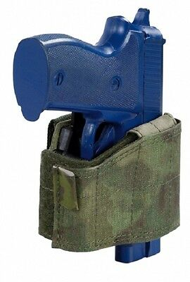 Warrior Assault Army Police Swat Universal Pistol Molle Holster A-TACS FG