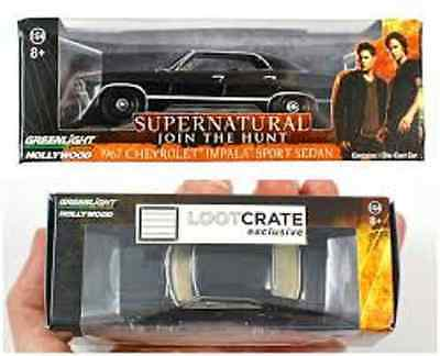 Loot Crate exclusive Supernatural 1967 Chevrolet Impala 1:64 scale Lootcrate Car