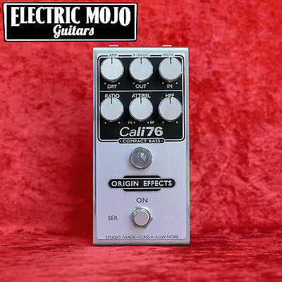 Origin Effects Cali76 Compact Bass Compressor Limiting Amplifier Pedal
