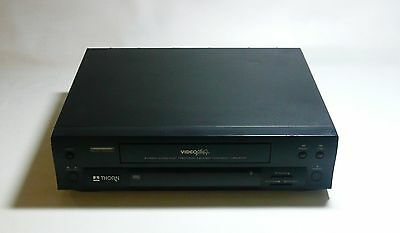 Basic VHS VCR Video Player in Black colour Free postage