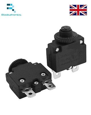 Thermal Switch CircuitBreaker Overload Protect 3A,4A,5A,6A,7A,8A,10A,15A,18A,20A