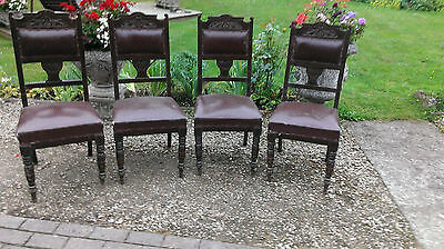 Set  Of  Four  Edwardian  Chairs