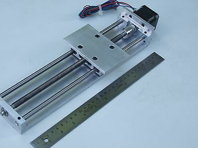 "CNC Z AXIS SLIDE **Nema 17 MOTOR INCLUDED** 5.75"" TRAVEL ROUTER 3D PRINTER DIY"
