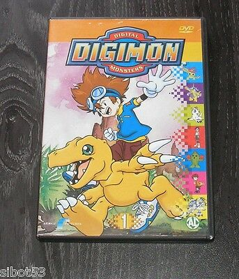 Digimon DVD Vol. 1 Staffel 1 3 Folgen 65 Min. NL