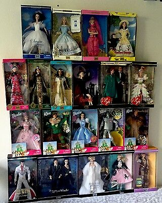 Barbie Collection, Wizard Of Oz, Timeless Treasure, Adams Family And More