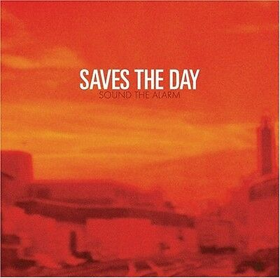 SAVES THE DAY Sound The Alarm 2006 UK 13-track CD album BRAND NEW