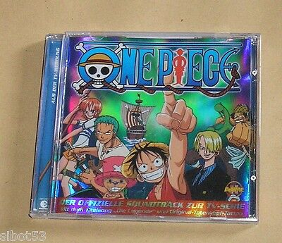 One Piece Offizieller Soundtrack 14 Songs Lieder CD Anime Manga OP