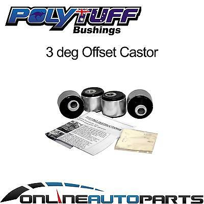 3 deg Caster Correction Bush Kit Landcruiser 80 100 Series Toyota Radius Rod