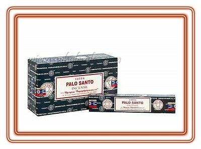 Lot of 6 Box Original Nag Champa PALO SANTO Incense Stick 6 x 15gr = 90gr FRESH