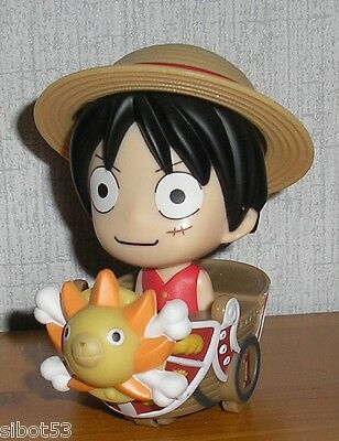 One Piece Monkey D. Ruffy mit Thousand Sunny MCD McDonalds Figur Luffy Anime OP