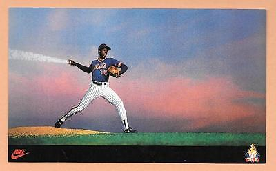 Dwight Doc Gooden Rookie Card~ 1985 Nike Promo Mets Rc Cy Young Roy World Series