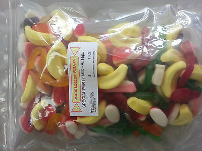 Allseps Special Party Mix 400g/1kg/2kg Christmas Party  Lollies  Lolly Buffet
