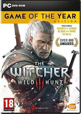 The Witcher 3: Wild Hunt - Game of the Year Edition [Steam] [PC] [UK/EU/Global]