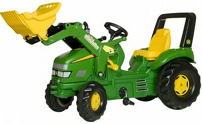 Rolly Toys - X-TRAC JOHN DEERE XL Ride on Pedal Tractor and Loader Age 3-10