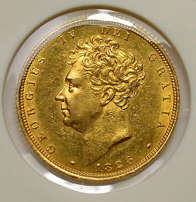 1826 Sovereign George Iv  ®922